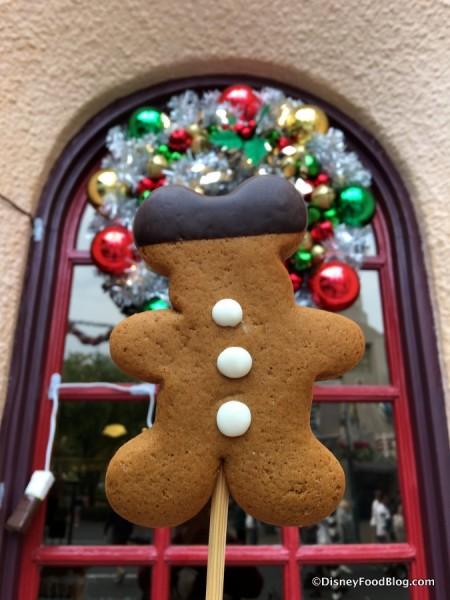 Gingerbread Mickey