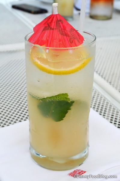 Lychee Lemon Soda