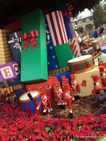 Toy Soldiers under Christmas Tree