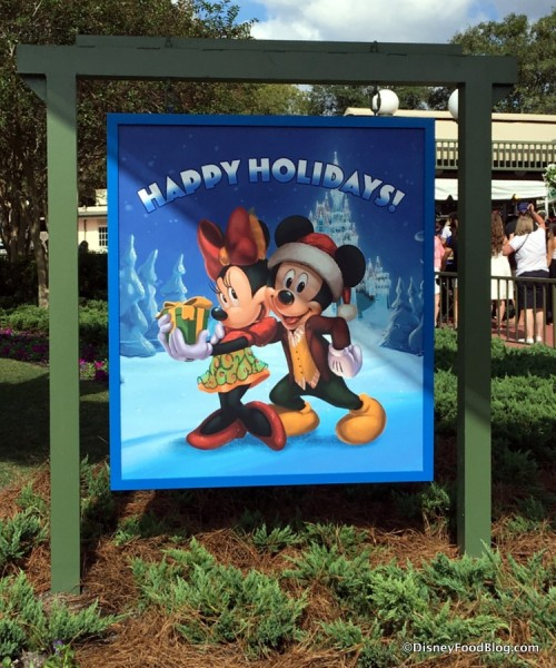 Happy Holidays from Magic Kingdom