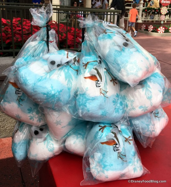 Olaf Cotton Candy