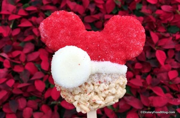Santa Mickey Krispy Treat