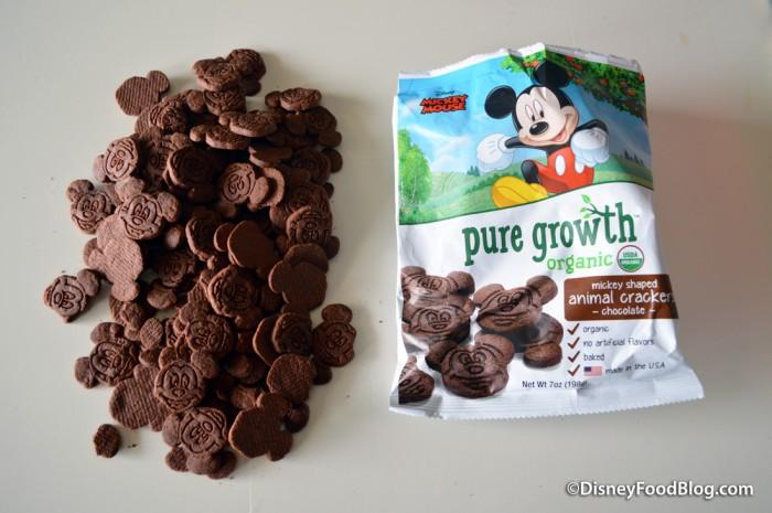 Pure Growth Organic Snacks chocolate animal crackers