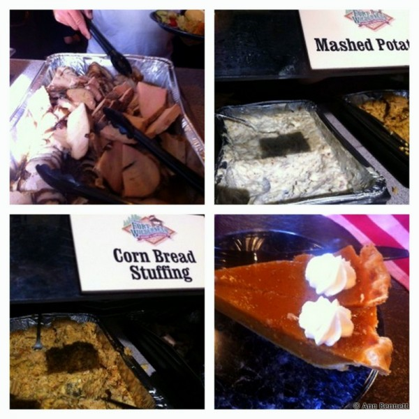 Mickey's Backyard BBQ Thanksgiving Eats!