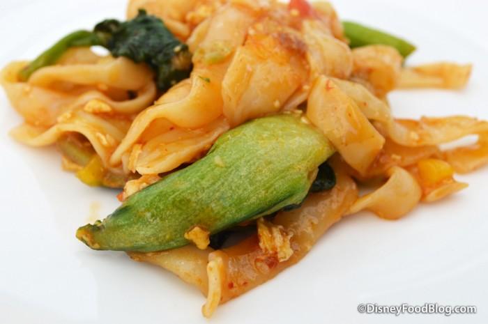 Morimoto Spicy Chow Fun Noodles