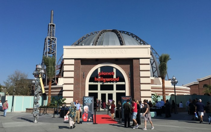 The Walls are Down at Planet Hollywood Observatory in Disney Springs