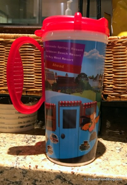 Walt Disney World Refillable Mugs Are Now Available with Handles Once Again
