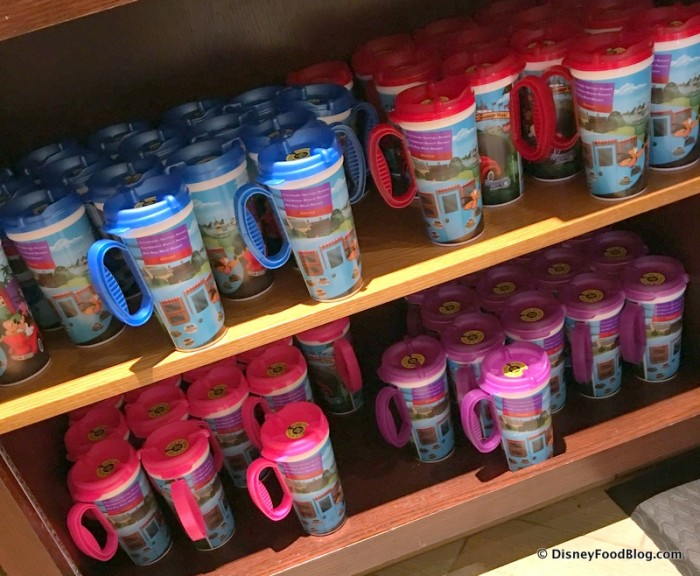 Refillable Mugs -- WITH HANDLES -- Are BACK!