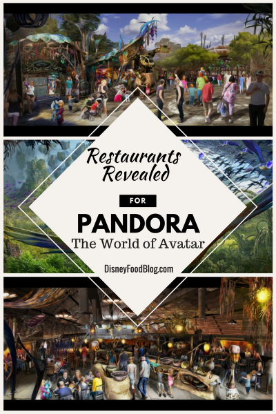 New Restaurants Revealed for Pandora — The World of Avatar, in Disney's Animal Kingdom