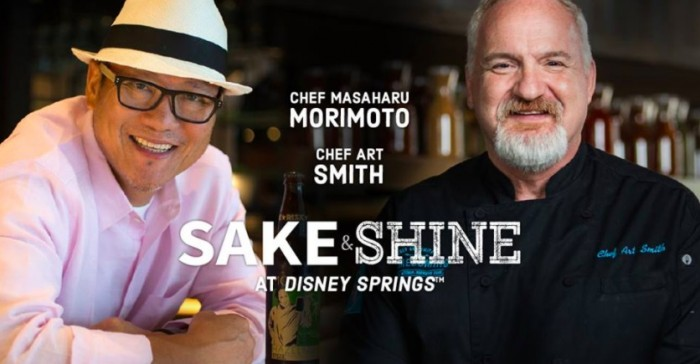 Sake & Shine at Disney Springs