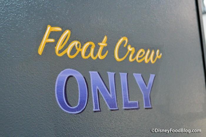 """Float Crew Only"""