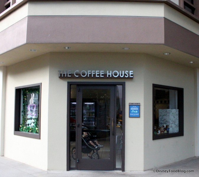 The Coffee House -- Outside