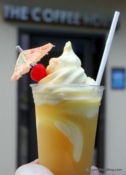 Dole Whip Float -- Up Close