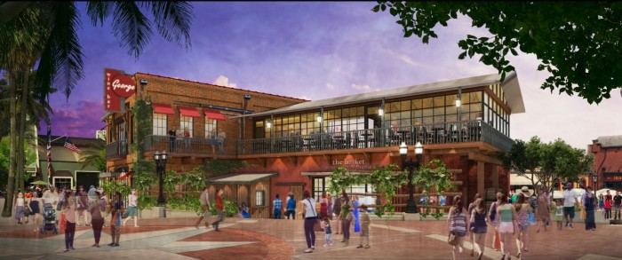 Artist rendering of Wine Bar George  ©Disney