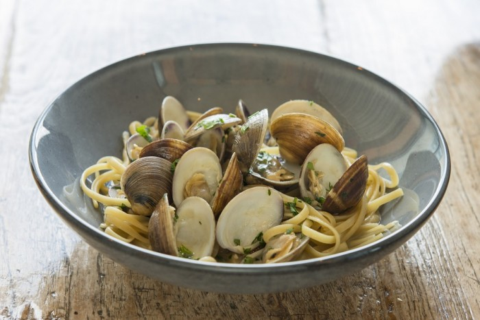 Linguine with clams ©Paddlefish