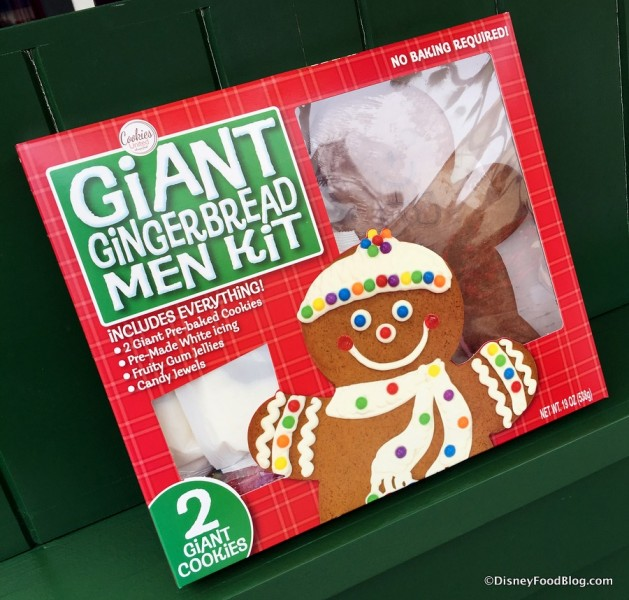 Giant Gingerbread Men Kit