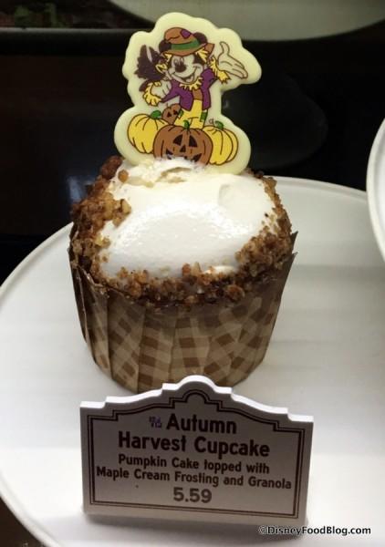 Autumn Harvest Cupcake