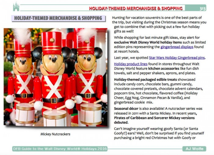 Holiday Themed Merchandise and Shopping