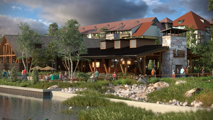 Artist rendering of Geyser Point Bar & Grill ©Disney