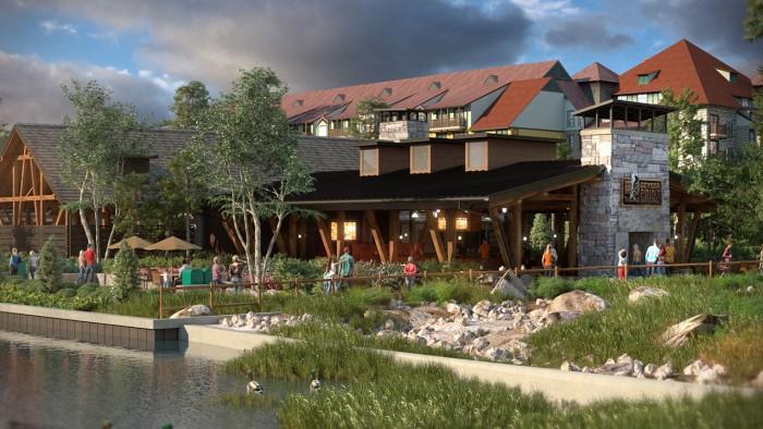 Artist rendering of Geyser Point Bar & Grill ©Disney