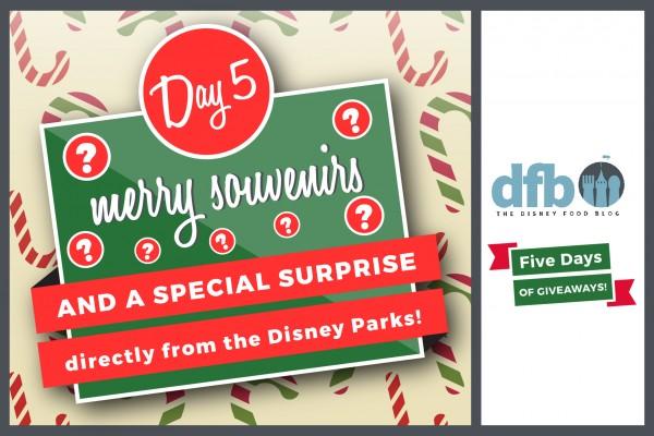DFB Five Days of Giveaways Day 5: Enter to Win a SURPRISE Disney Parks Souvenir!
