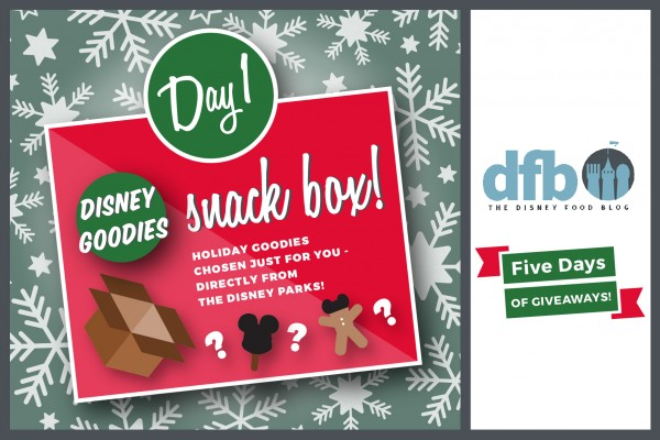 DFB Five Days of Giveaways: Win a Disney Goodies Snack Box from Disney Food Blog!