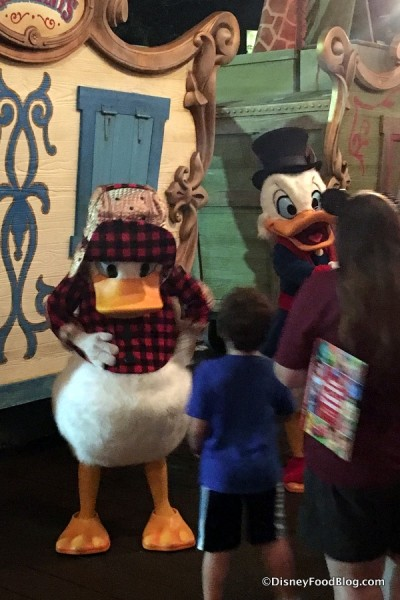 Donald and Scrooge McDuck