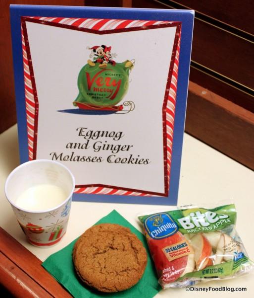 Eggnog and Ginger Molasses Cookies