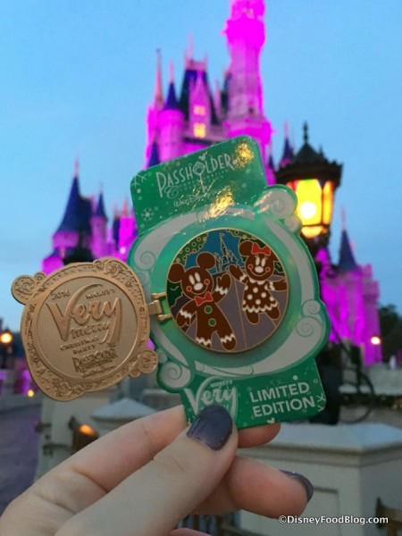 Mickey's Very Merry Christmas Party Passholder Pin