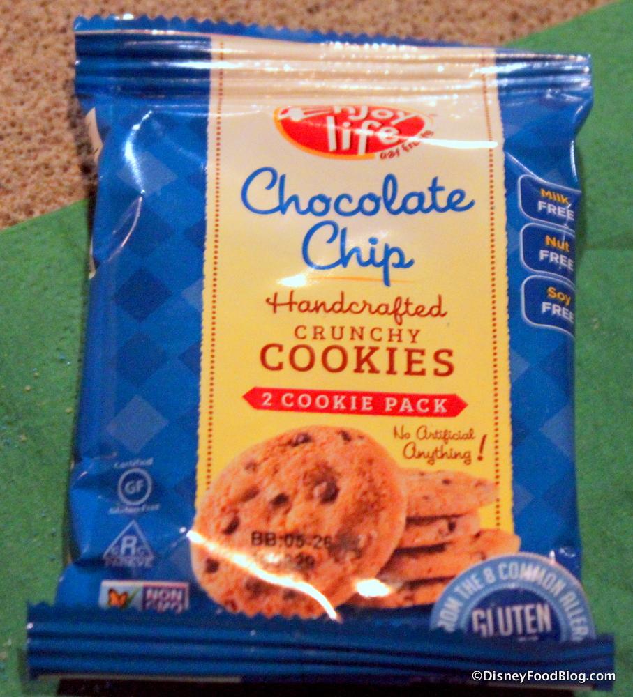 Enjoy Life Chocolate Chip Cookies - Pumpkin Chocolate Chip Cookies