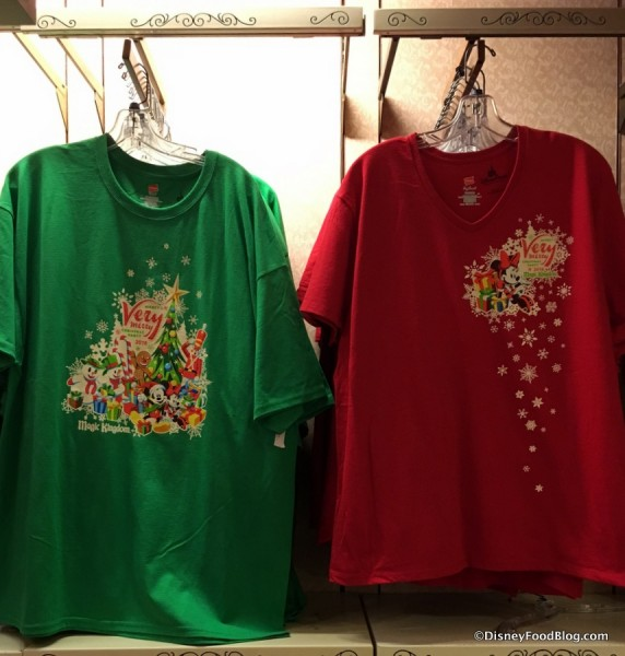 Mickey's Very Merry Christmas Party shirts