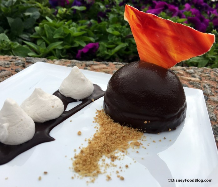 Dark Chocolate S'mores