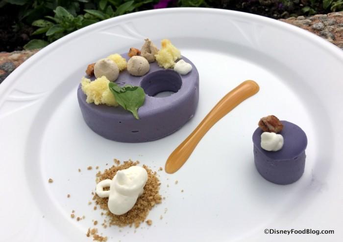Deconstructed Purple Sweet Potato Pie