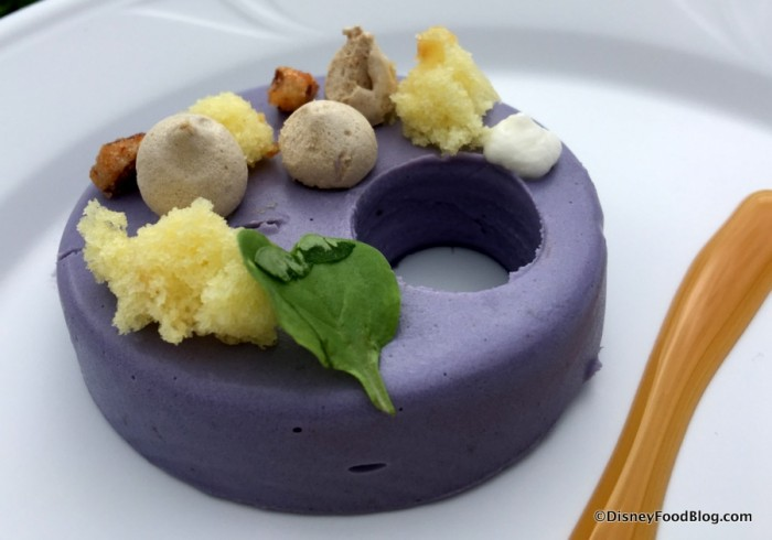 Deconstructed Purple Sweet Potato Pie