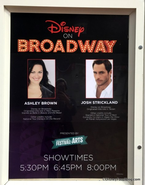 Disney on Broadway Concert Series from 2017