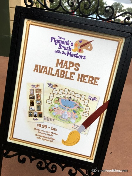 Figment's Brush with the Master sign