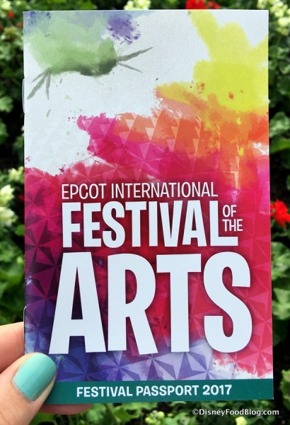 Festival of the Arts Passport