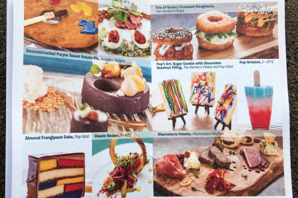 News! ALL FOOD PHOTOS from the Epcot Festival of the Arts Booths Now Available!!