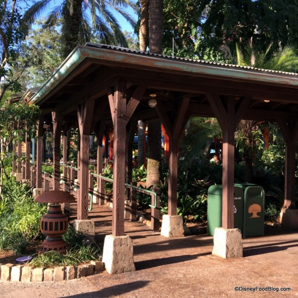 Flame Tree Barbecue Walkway