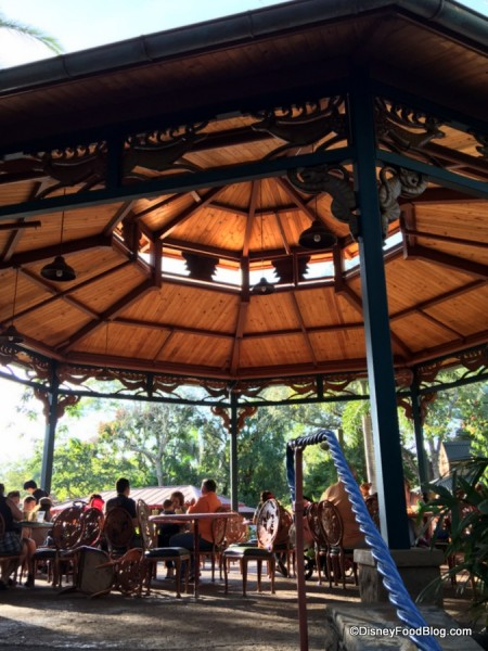 Flame Tree Barbecue Gazebo