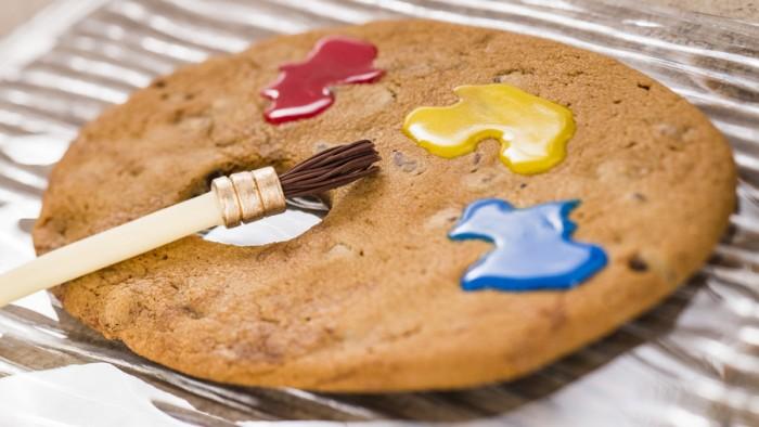 Artist Palette Jumbo Chocolate Chip Cookie ©Disney