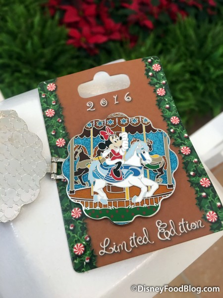 Gingerbread Carousel Pin from 2016