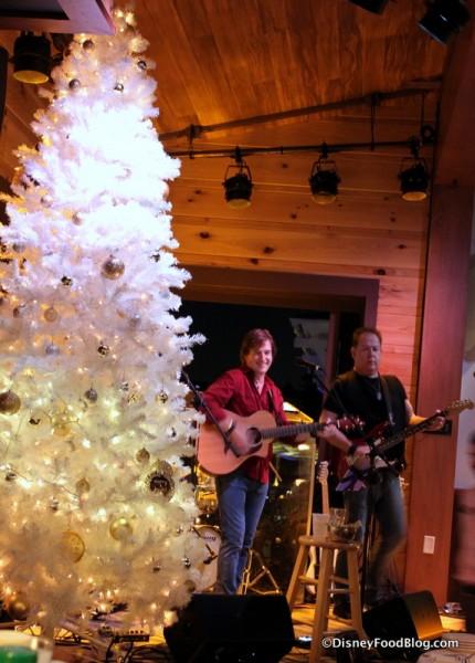 Live Music and Seasonal Decor