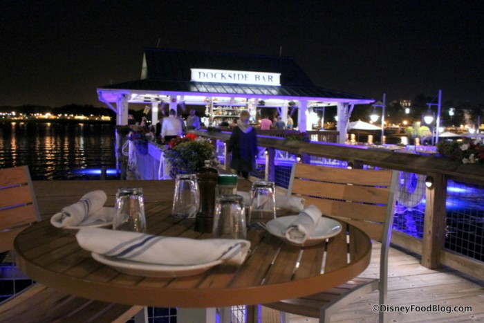 Dockside Bar and Outdoor Seating
