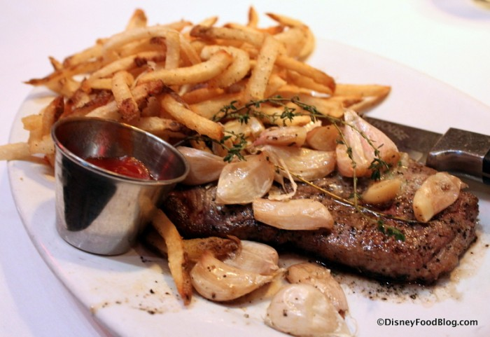 NY Steak and Fries -- Up Close