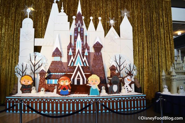 Contemporary Gingerbread Display