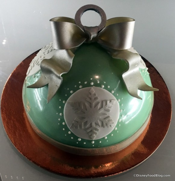 Ornament Dome Cake