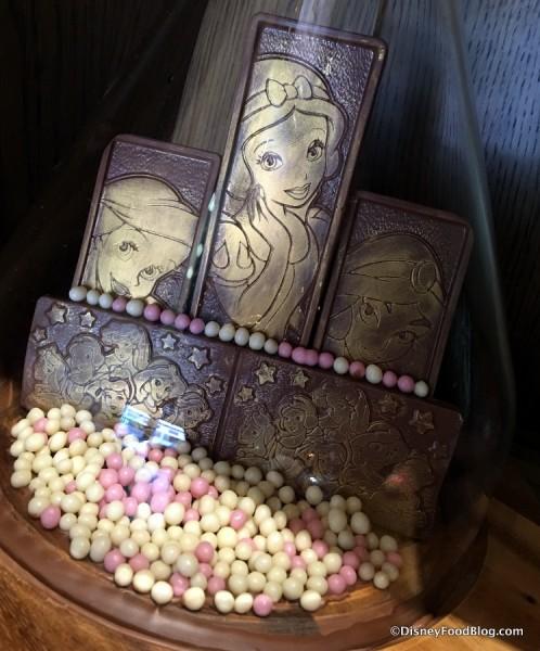 Princess Chocolate Bars