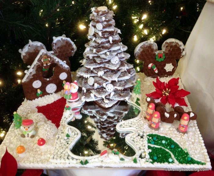 Individual Gingerbread Display