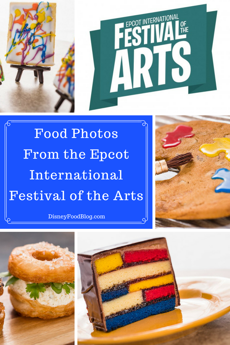 Get a first look at the Food Photos From the Epcot International Festival of the Arts!